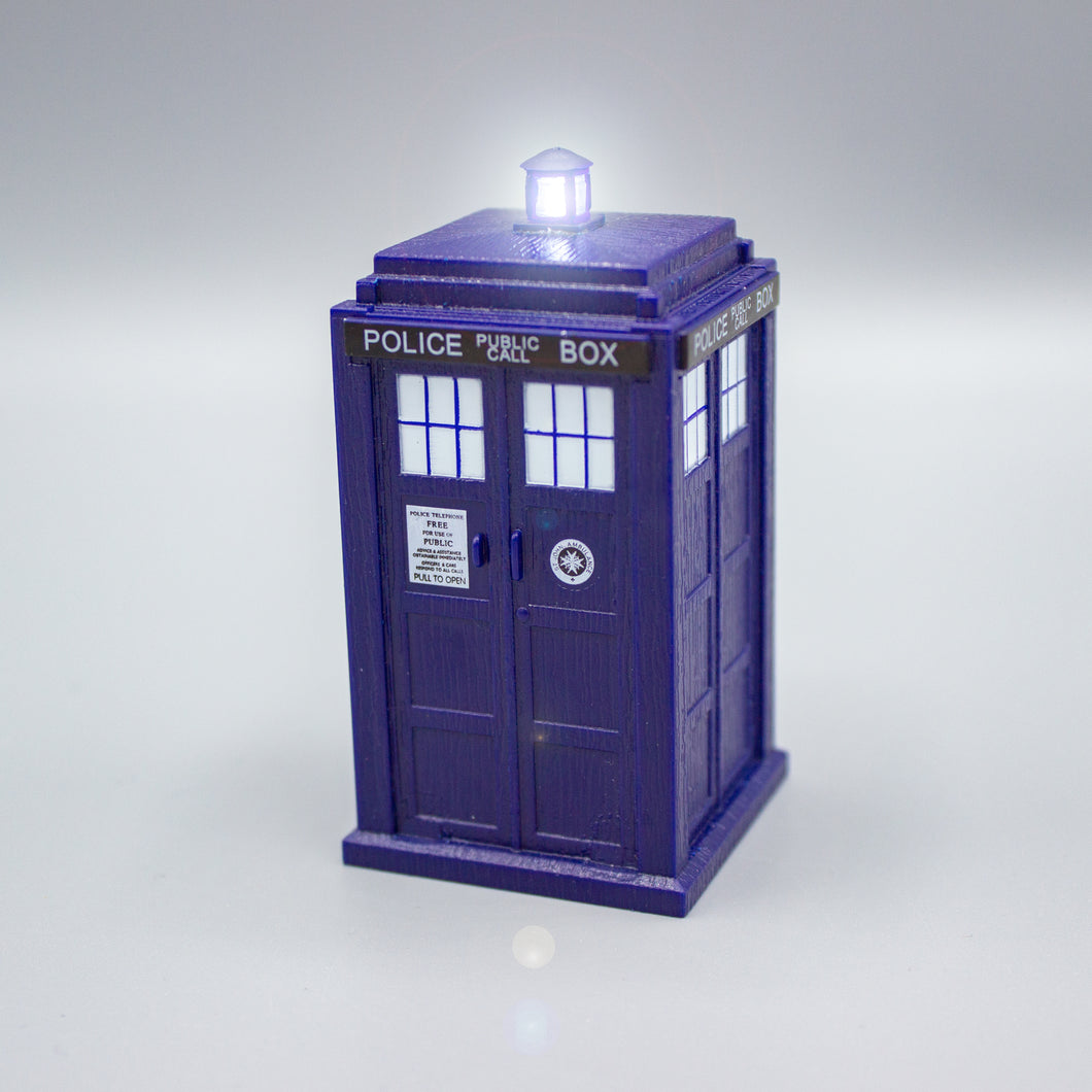 Light-Up TARDIS Model