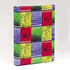 ' MOW-54301 	 MOHAWK 100% PCW Mohawk Recycled Color Copy Paper 28#, 96 bright