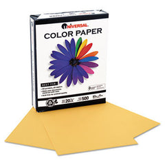 GOLDENROD 30% Post-consumer recycled, 20lb, letter size, 500 sheets/rm UNV-11205