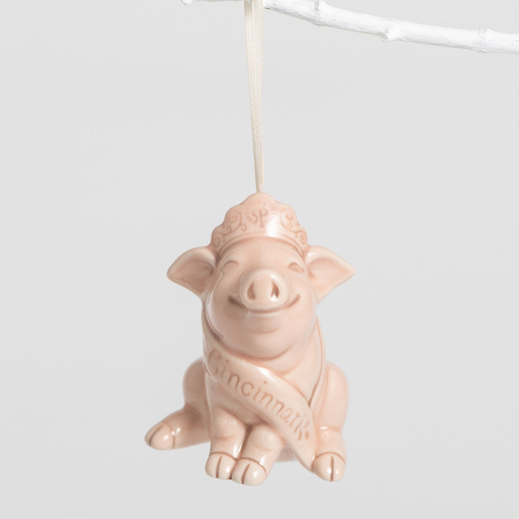 Queen City Pig Ornament