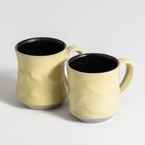 Hand Thrown Mug Pair #1959