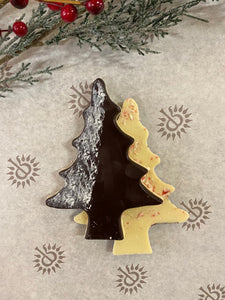 Chocolat LaTour Peppermint Bark Chocolate Tree