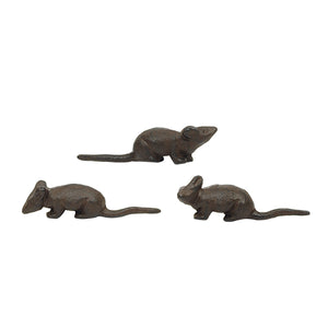 Cast Iron Mouse Figure