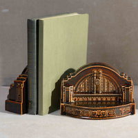 Union Terminal Bookends Set