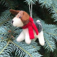 Ornament Wool Animal Assorted Winding Road