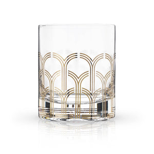 Glass Deco Tumblers