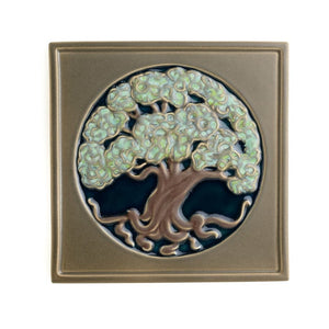 "Tree Of Life Tile - 8"" x 8"""