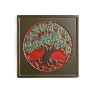 Tree Of Life Tile 8x8 Marvelous