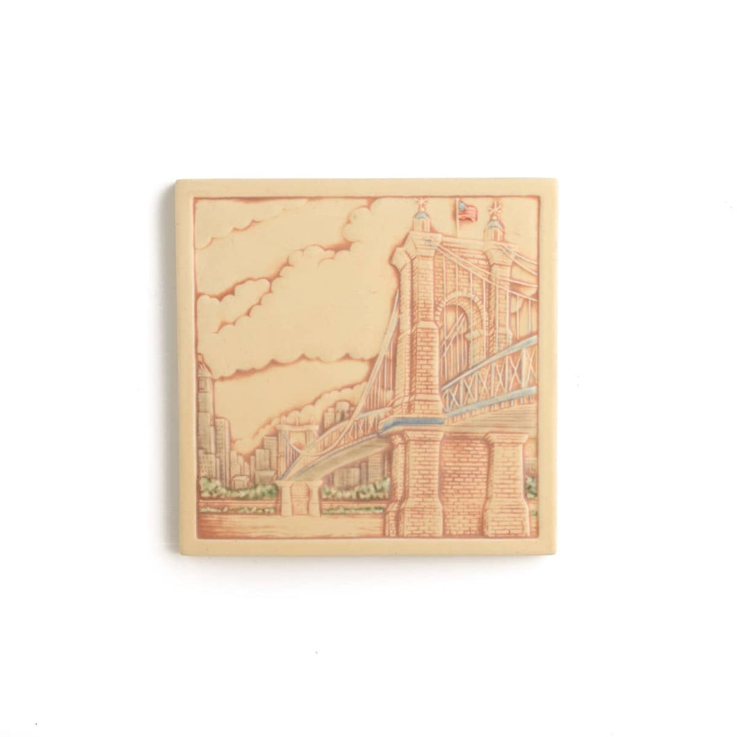 Roebling Bridge Tile
