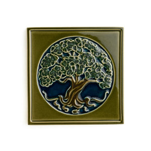 Tree Of Life Tile 8x8 Muir