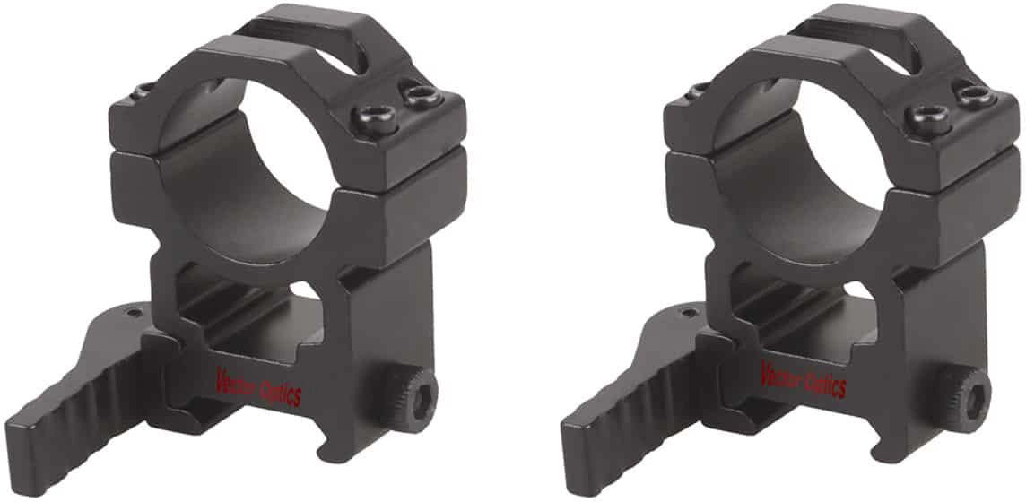 25.4mm Quick Release High Picatinny Mount Ring