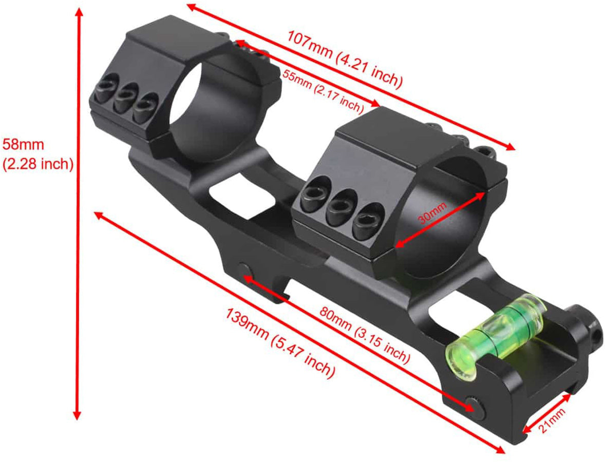 30mm One Piece ACD Mount Extra Light 7