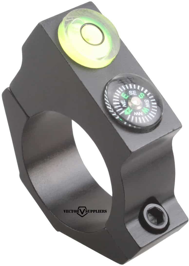 25.4mm ACD Bubble Level Mount w/ compass 2