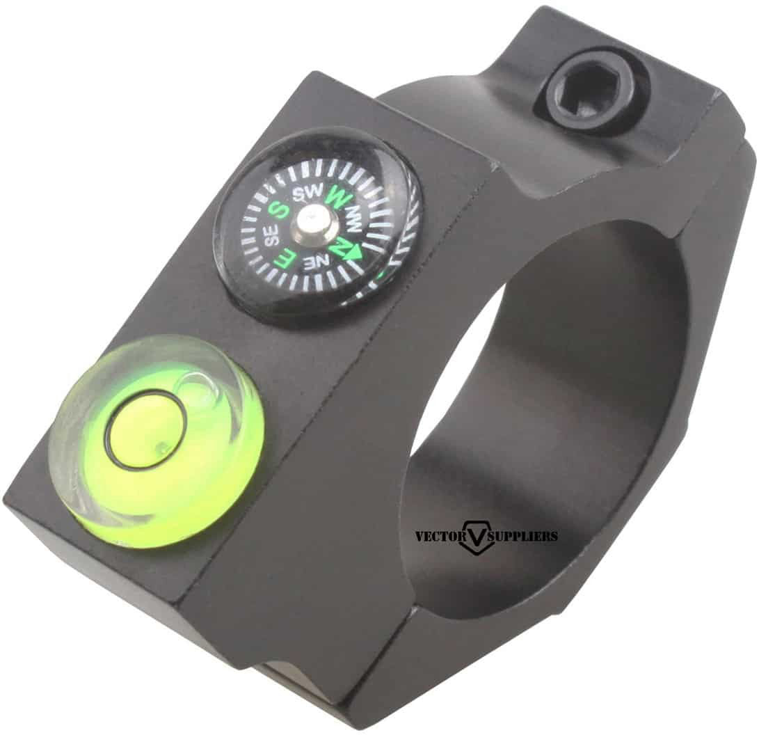 25.4mm ACD Bubble Level Mount w/ compass 1