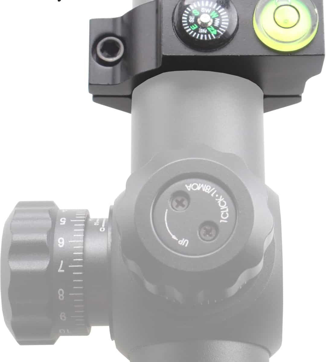 25.4mm ACD Bubble Level Mount w/ compass 5