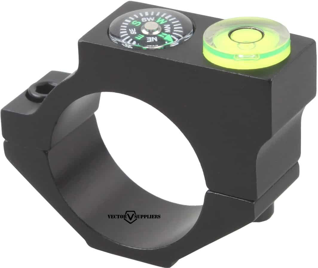25.4mm ACD Bubble Level Mount w/ compass