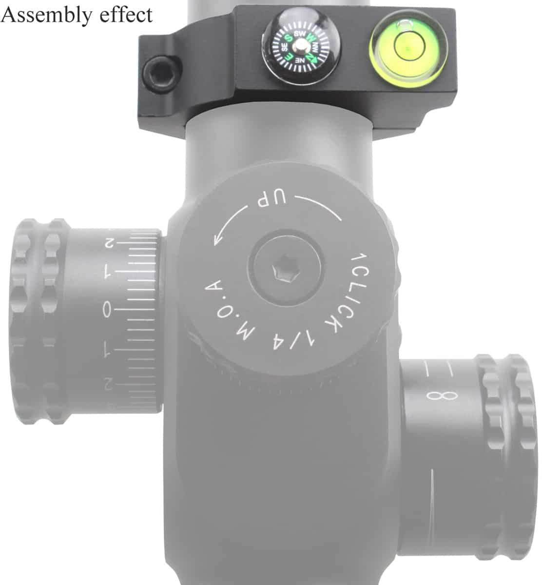 30mm Offest Bubble ACD Mount with Compass 4