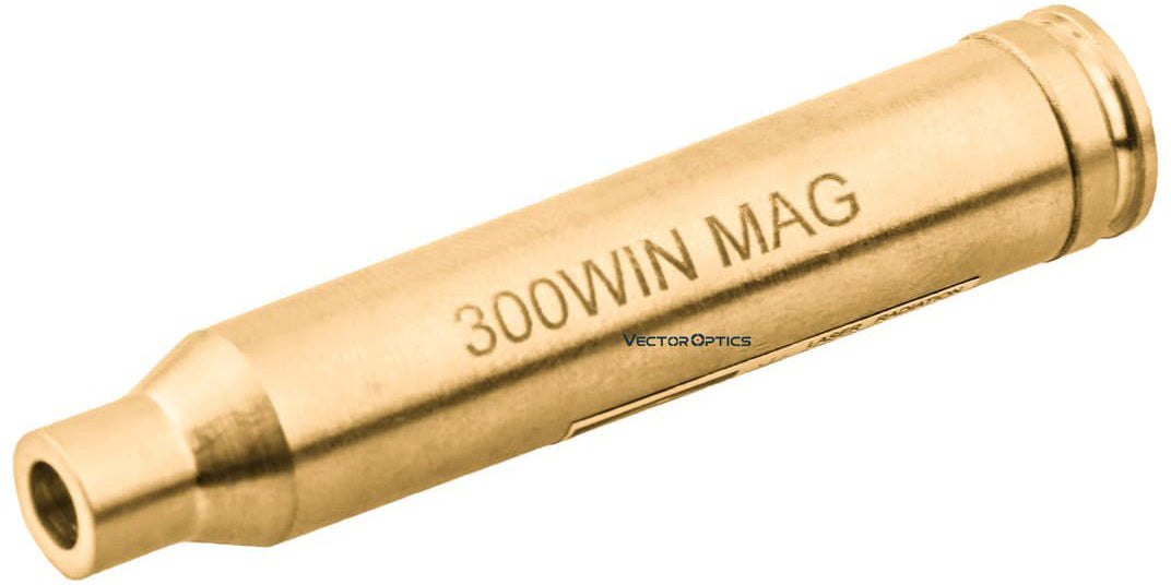 .300 Win. Mag. Cartridge Red Laser Bore Sight