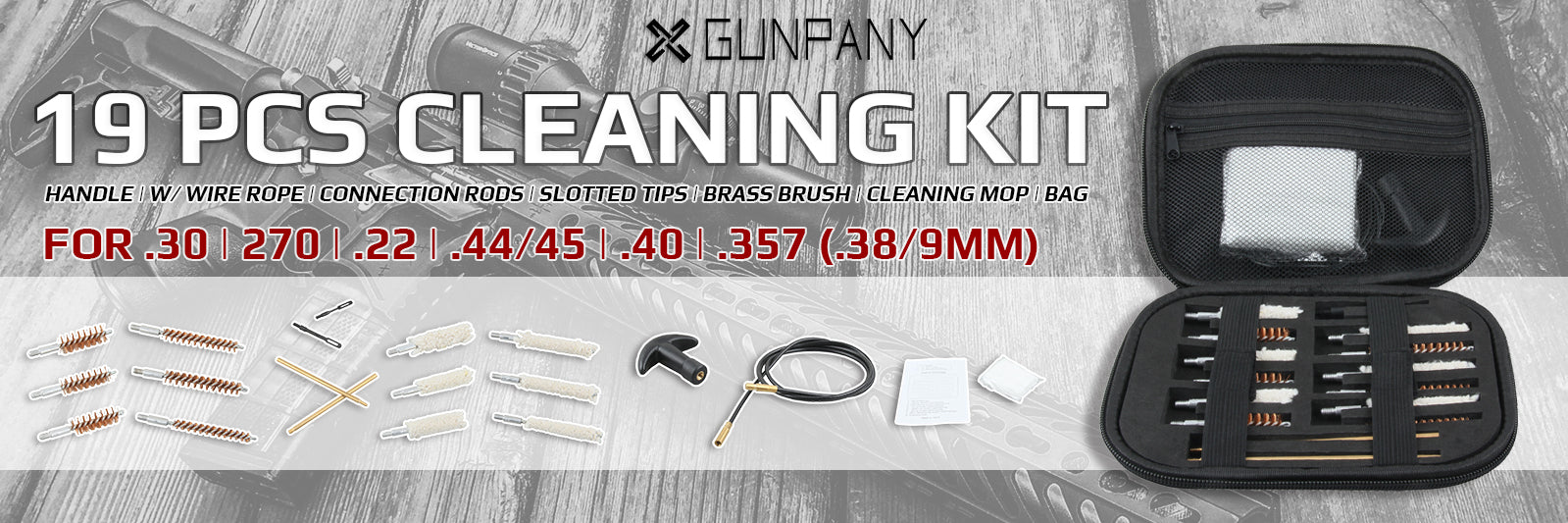 gun cleaning kit