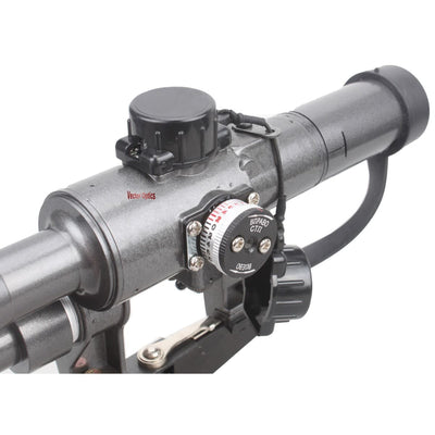 Vector Optics Dragunov 4x24 SVD First Focal Plane Sniper Riflescope Fit AK Scope AK 47 AK74 FFP Illuminated Russian Weapon Sight