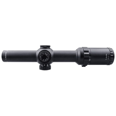 Vector Optics Arbiter 1-4x24 SFP Hunting Riflescope Illuminated Red Dot Sight For Heavy Recoil .308 30-06 cal. Rifles & Airguns