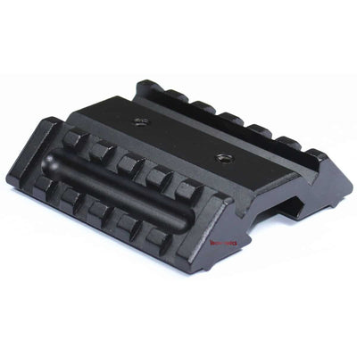 Tactical Dual 45° Offset Picatinny Rail Mount
