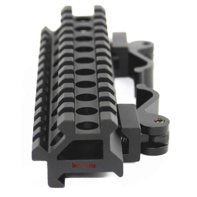Long Angle Riser QD Picatinny Rail Mount