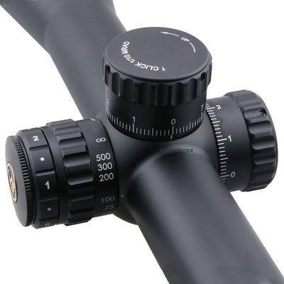 Continental 3-18x50SFP Tactical Riflescope