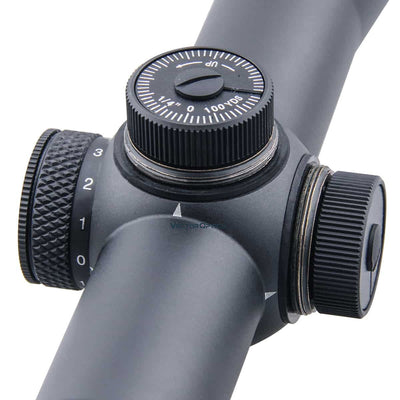 Vector Optics Forester 3-15x50 Hunting Riflescope 100mm Long Eye Relief Rifle Scope Zero Illuminated Dot Reticle