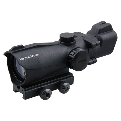 Vector Optics Condor 2x42 Red and Green Dot Rifle Scope Sight with 20mm Weaver Mount Base for Hunting 12ga Shotgun .22 Rifle