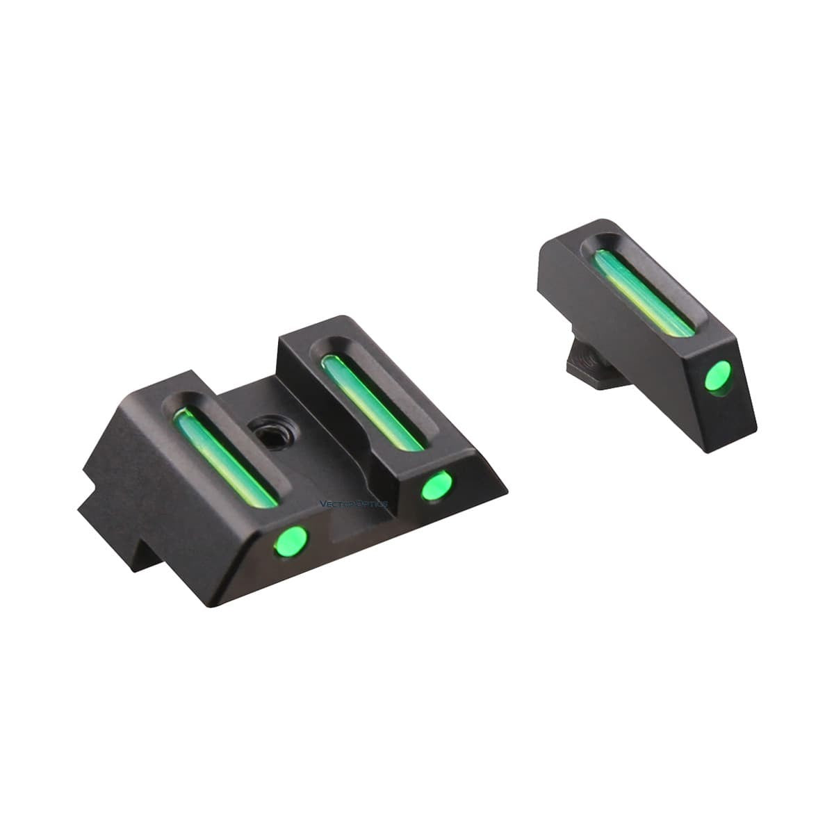 LA Fiber Sights Combo for Pistol