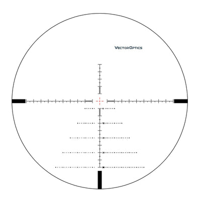Vector Optics Tourex 4-16x44 FFP Riflescope First Focal Plane MOA Hunting Rifle Scope Zero Stop For Close Middle Range Shooting