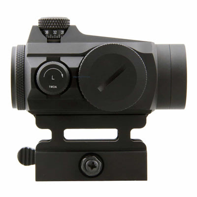 Vector Optics Maverick GenII 1x22 Red Dot Scope Sight Hunting Optic Tactical Uncapped Turret QD Mount For Real Firearms Airsoft