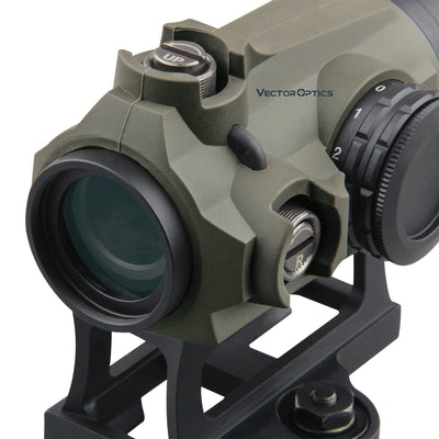 Vector Optics Maverick Gen3 1x22 Red Dot Scope Optic Sight Hunting Waterproof IPX6 QD AR Sight Rubber Armed .223 5.56 .308 7.62