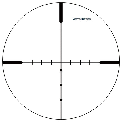 Vector Optics Matiz 6-18x44 AO 25.4mm 1 Inch Hunting Capped Rifle Scope Vamint Shooting Objective Adjustable with Mount Ring