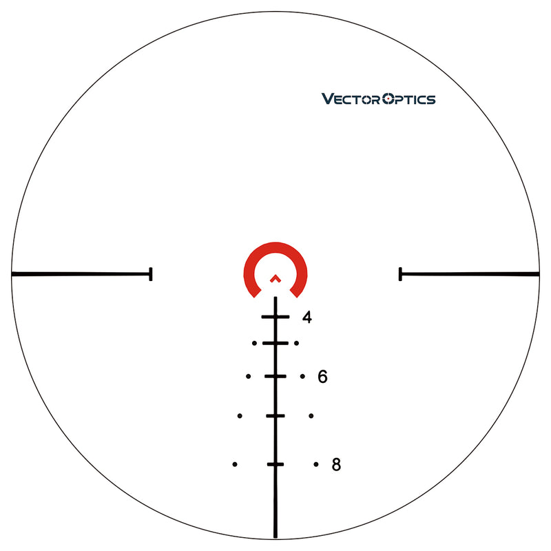 Vector Optics 34mm Continental 1-6x28 FFP Riflescope