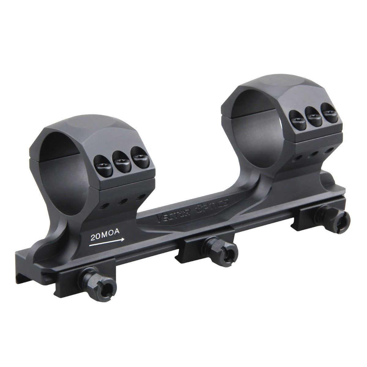 X-Accu 34mm High Profile One Piece 20MOA Mount