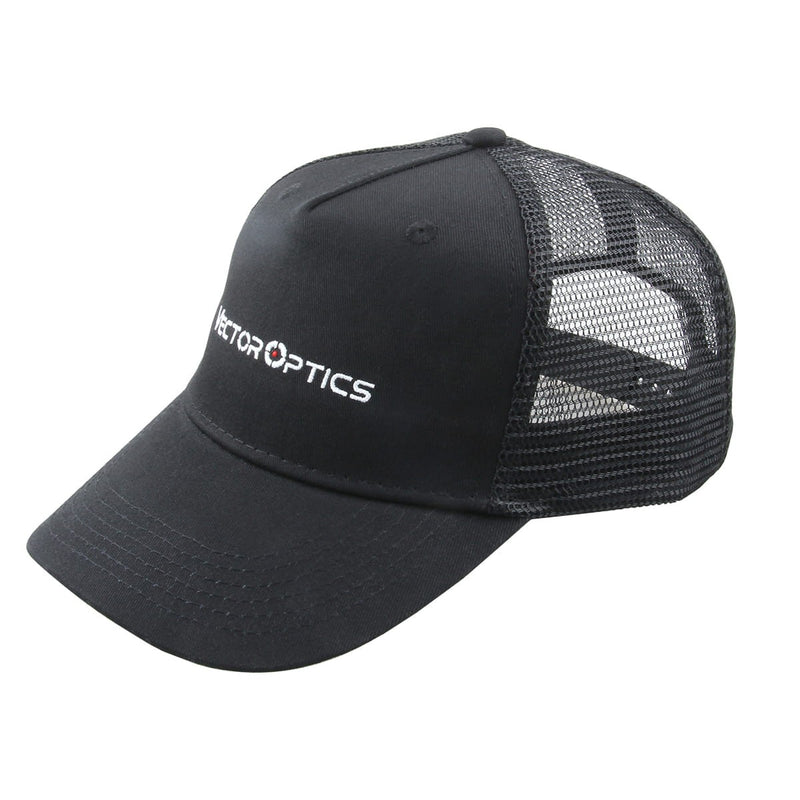 Nylon Mesh Black Outdoor Cap