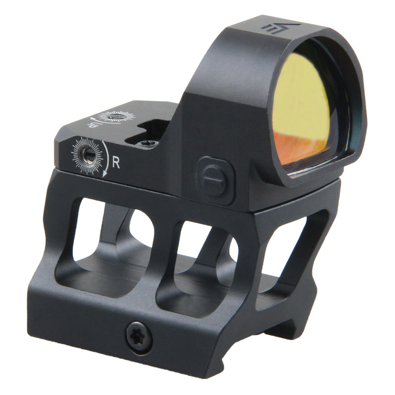 Frenzy 1x22x26 red dot sight w/ MOJ Red Dot Sight Cantilever Picatinny Riser Mount