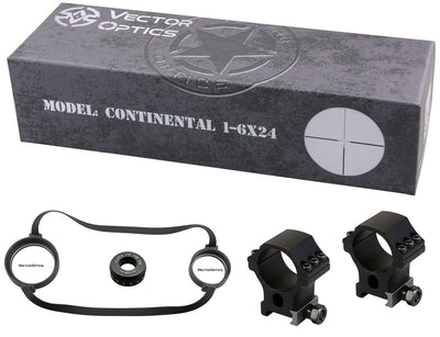 Vector Optics Top Brand Line Continental Hunting Riflescope HD Glass German Optical System 90% Light Transmission .338 Lapua
