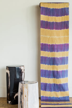 Firat Purple Gold Ikat