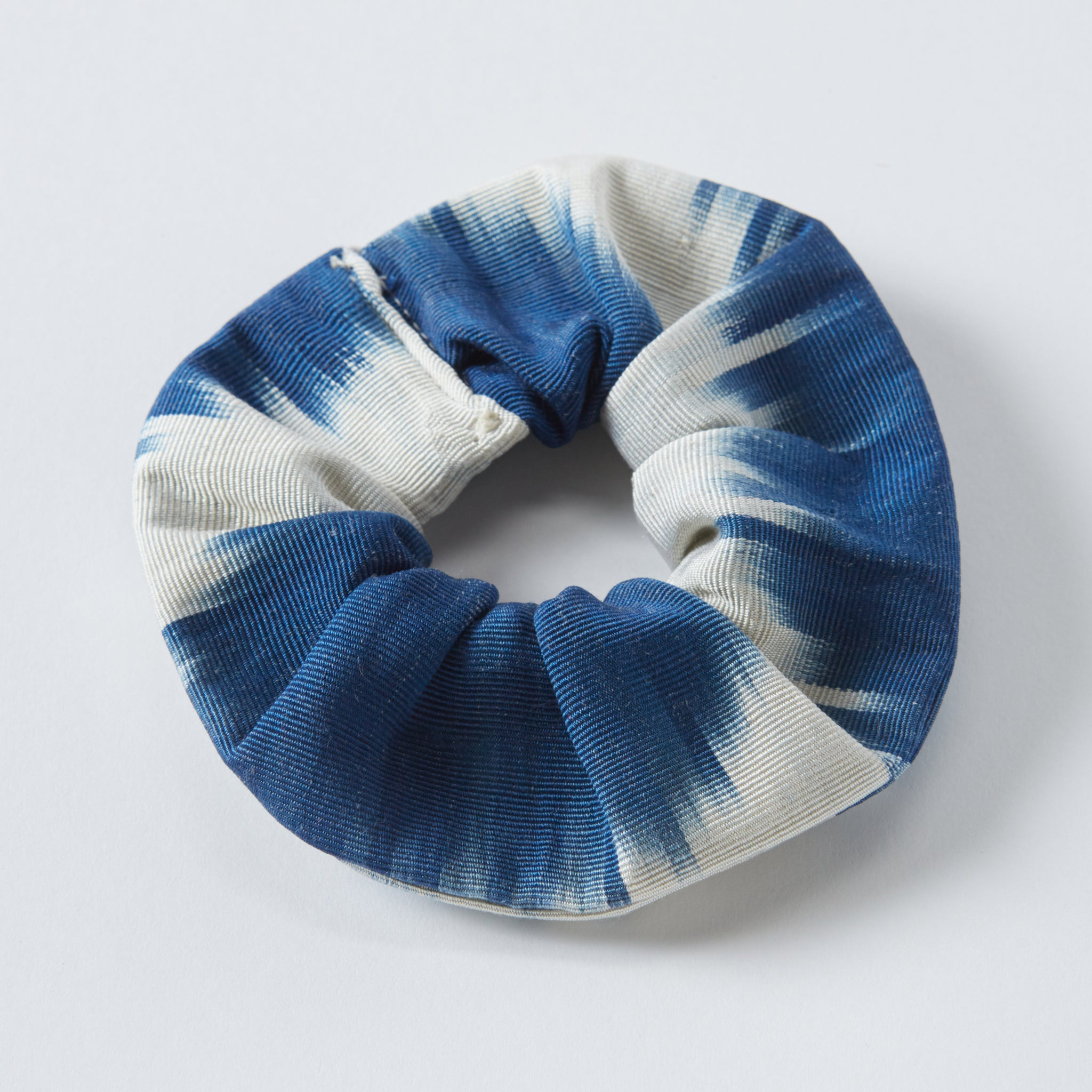 blue anna scrunchie - maas by slightly east