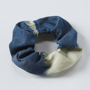 navy anna scrunchie - maas by slightly east