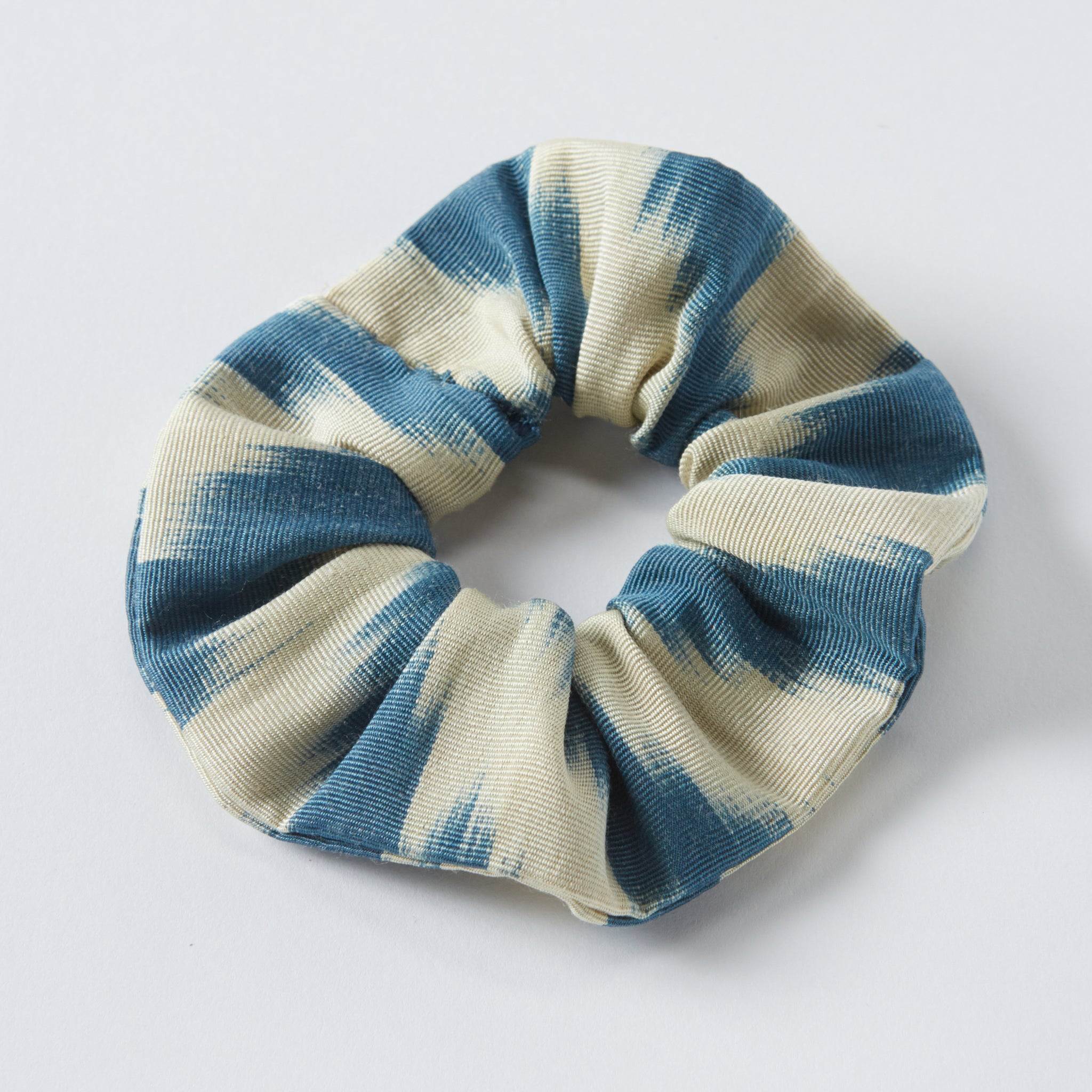sky stripe anna scrunchie - maas by slightly east