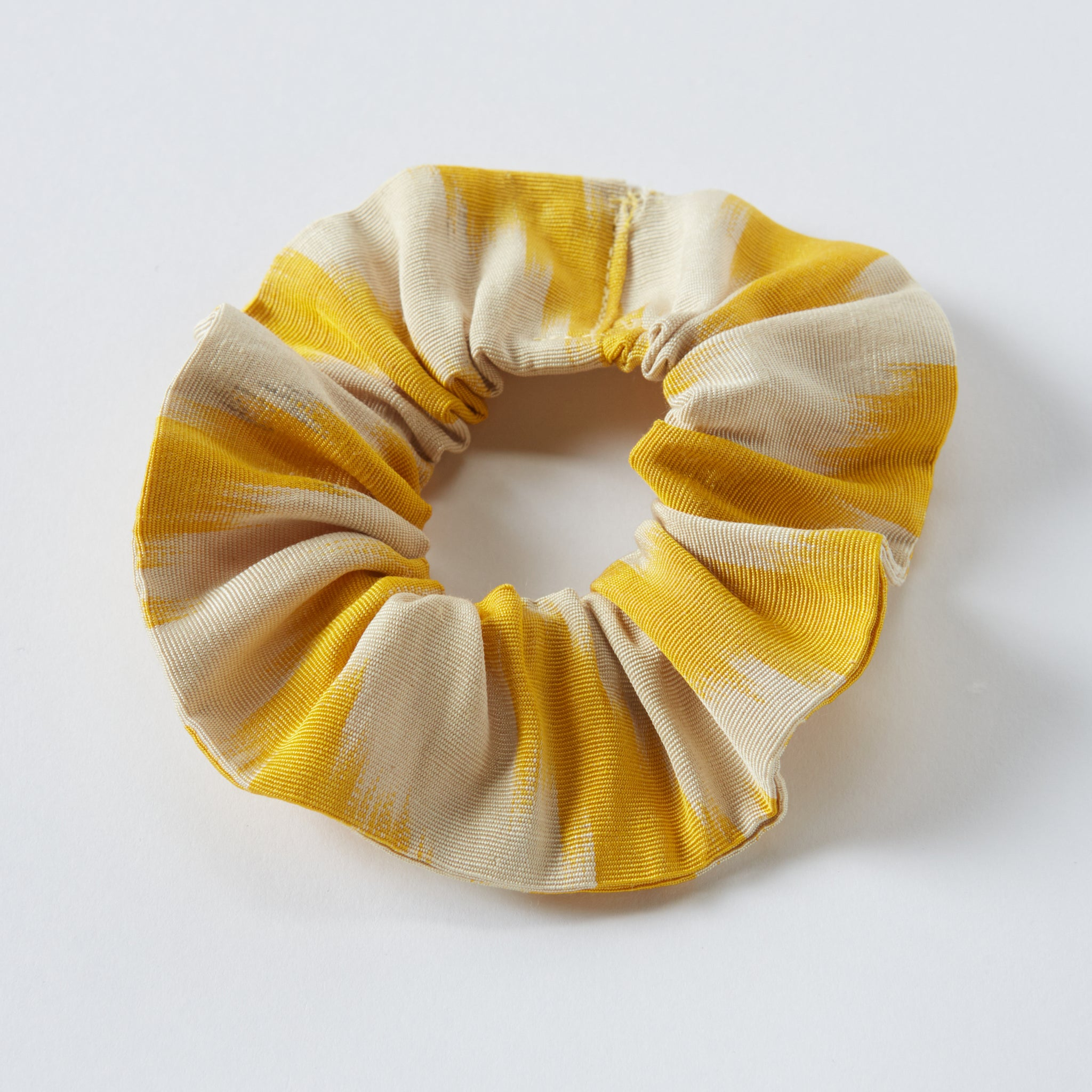 yellow anna scrunchie - maas by slightly east