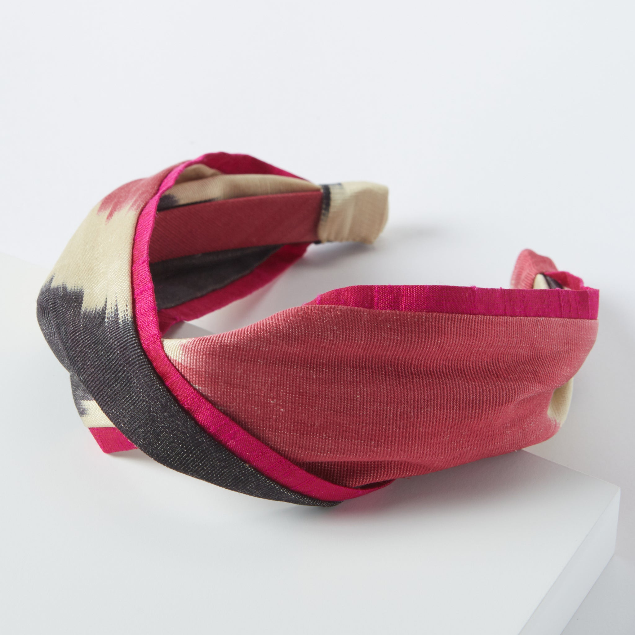 raspberry ella headband - maas by slightly east