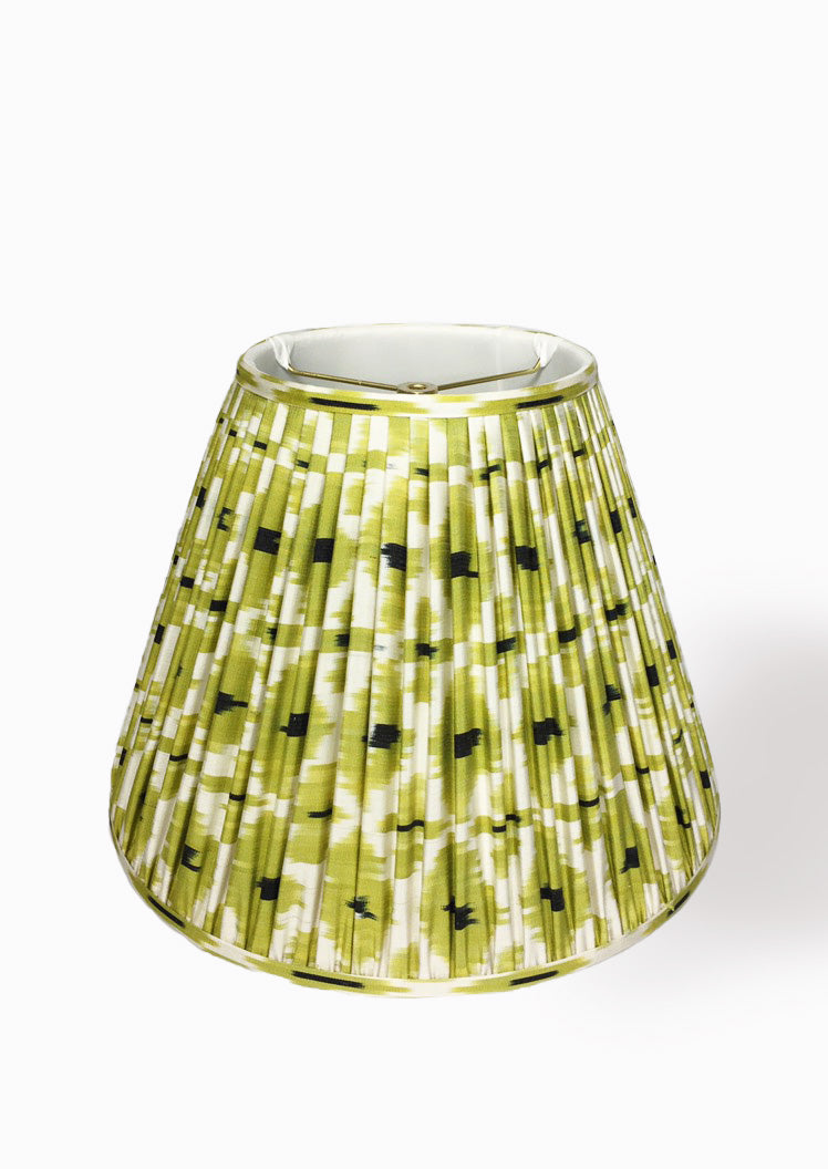 Emira Chartreuse Lampshade