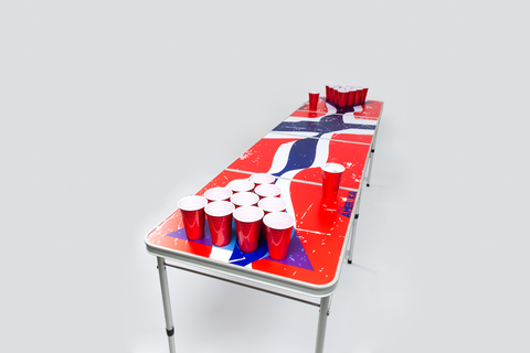 Norskt flagg Beerpong-bord