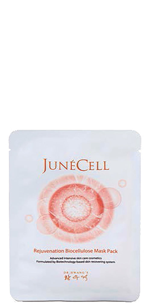 JunéCell Rejuvenation Biocellulose Mask Pack