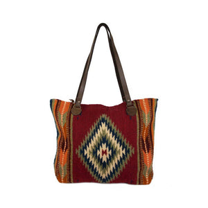 MZ - Dark Earth + Arrows Tote